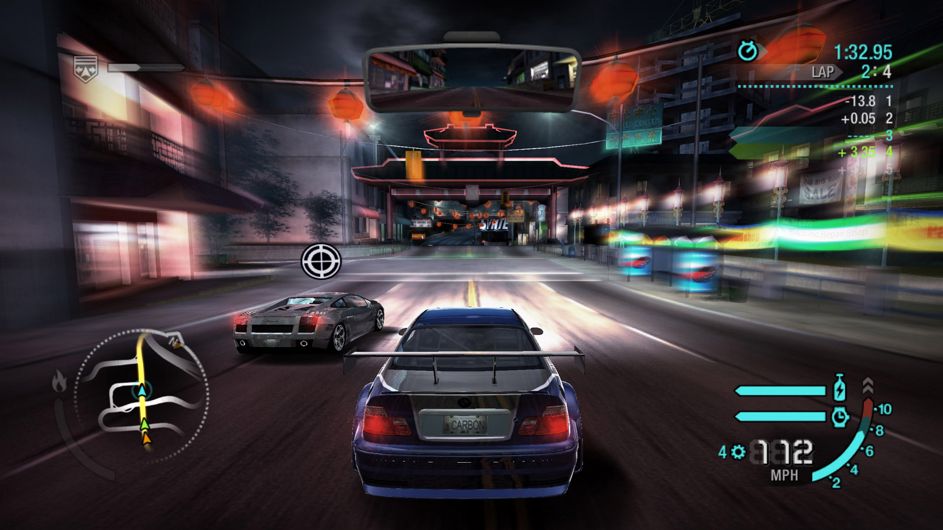 Need for Speed Carbon playing