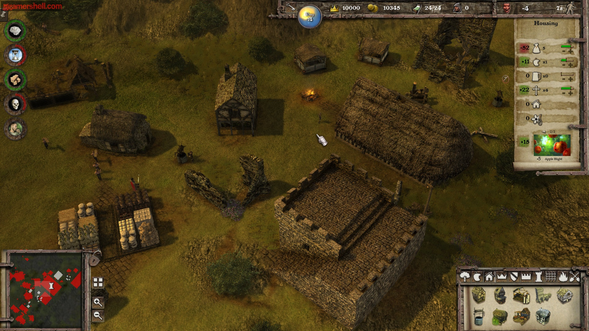 Stronghold 3 screen