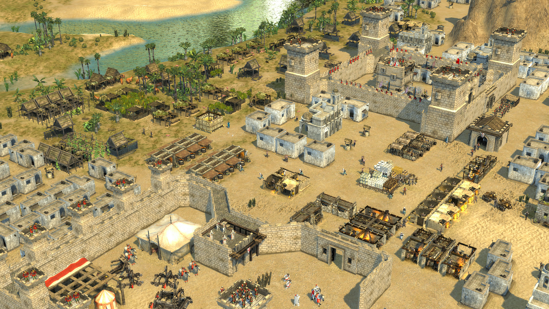 Stronghold Crusader 2 screen shoot