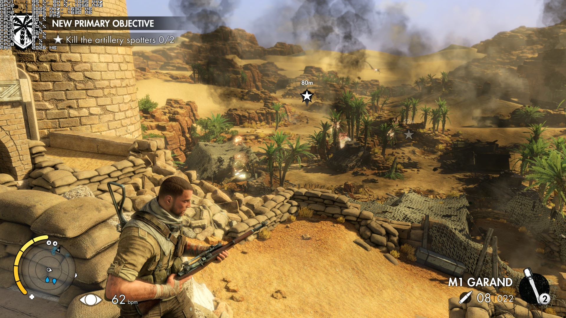sniper elite 3 scree shot