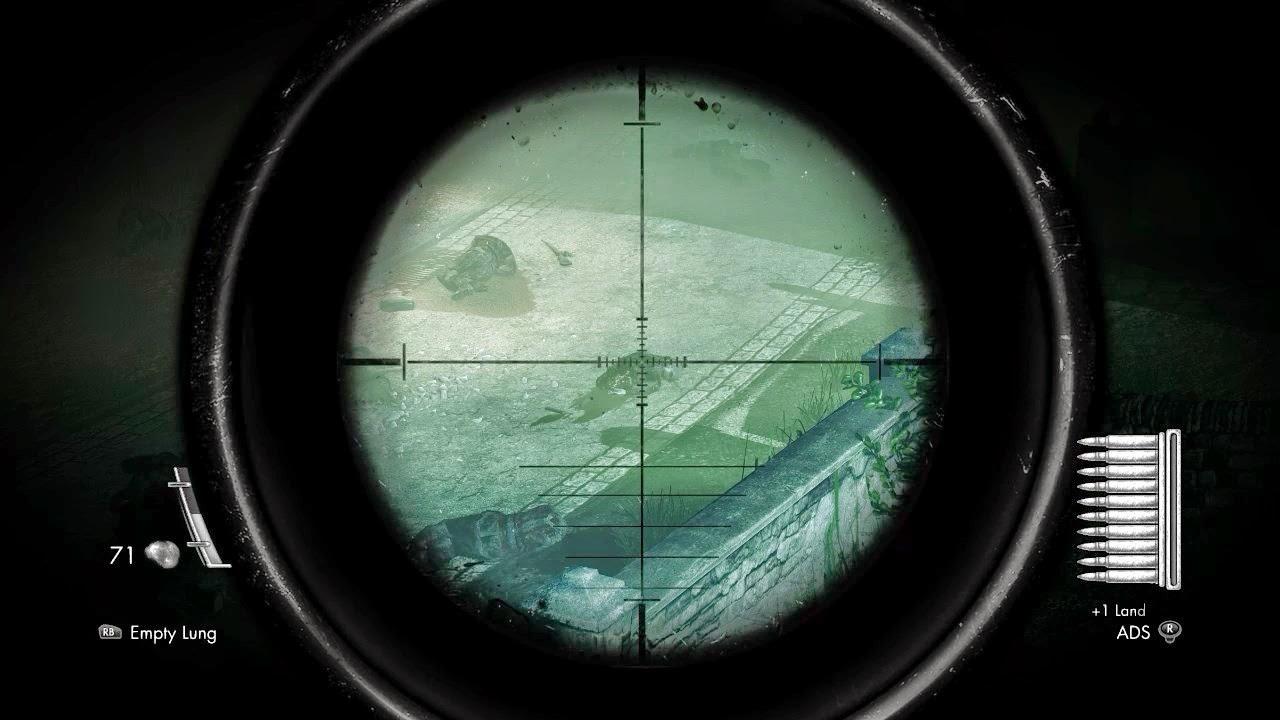 Sniper Elite Nazi Zombie Army Overview